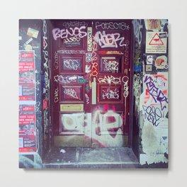 London: graffiti door Metal Print