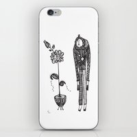 vegetarian iPhone & iPod Skins featuring Confessions of a vegetarian by Ivana Zdravkovic