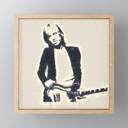Tom Petty Framed Mini Art Print