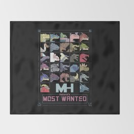Astera's Most Wanted Throw Blanket