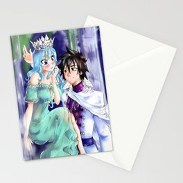 The Queen of Water and the King of Ice Stationery Cards