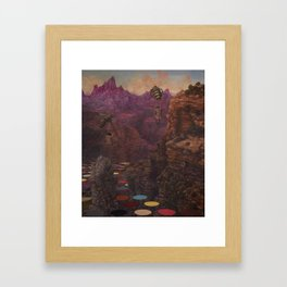 last canyon Framed Art Print
