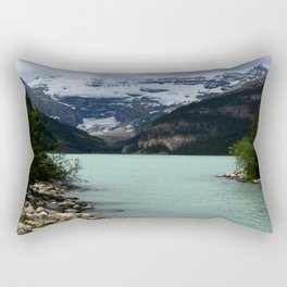 Lake Louise Impression Rectangular Pillow