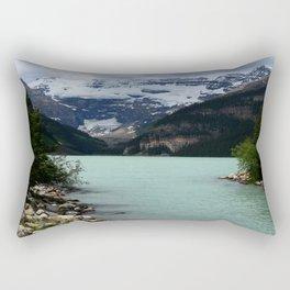Lake Louise Impression Rectangular Pillow