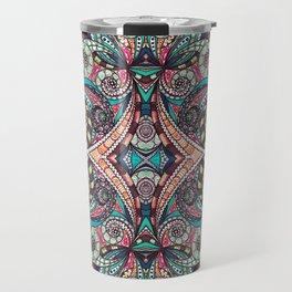 Drawing Floral Zentangle G237 Travel Mug