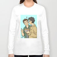 pie Long Sleeve T-shirts featuring DeanCas -Pie by KalesButt