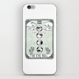 The Eye Roll iPhone Skin