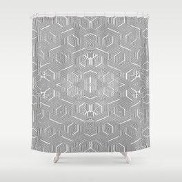 2805 DL pattern 3 Shower Curtain