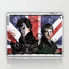 Sherlock & Watson Grunge Laptop & iPad Skin