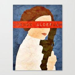 Avenge Alderaan Canvas Print