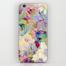 summery floral iPhone Skin