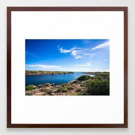 To The Sea Framed Art Print