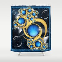 Midnight Dream Shower Curtain