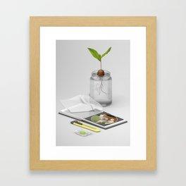 Leftovers #3 Framed Art Print