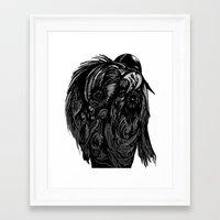 birdman Framed Art Prints featuring Birdman by Hartless
