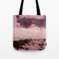 burgundy Tote Bags featuring burgundy rose by patternization