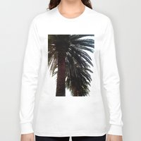 palm trees Long Sleeve T-shirts featuring Palm Trees by Moonshine Paradise