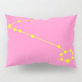 PISCES (YELLOW-PINK STAR SIGN) Pillow Sham