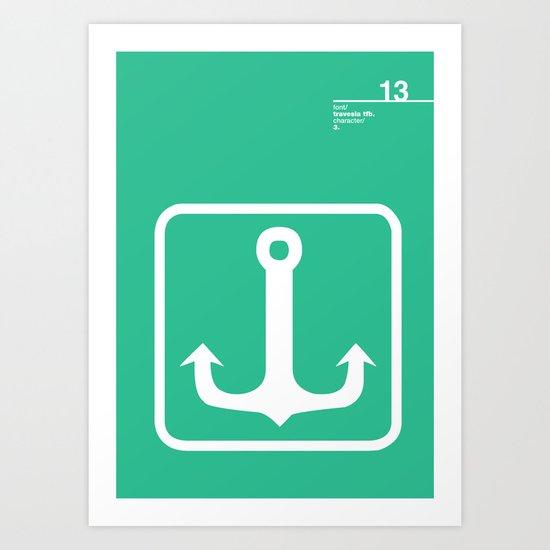 13_travesiatfb_3 Art Print