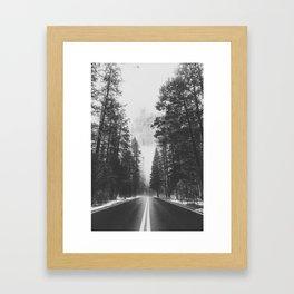 ROAD TRIP XV / Yosemite, California Framed Art Print