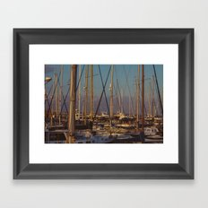 Cyprus Port Framed Art Print