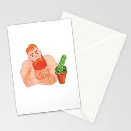 Flirtatious Guy Stationery Cards