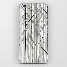 Pattern Trees iPhone Skin