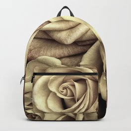 Brown Roses Backpack