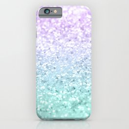 Mermaid Girls Glitter #1a (2019 Pastel Version) #shiny #decor #art #society6 iPhone Case