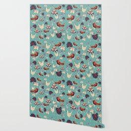 Babyblue Forest Wallpaper