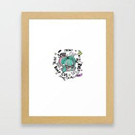Cutie Cuts Framed Art Print