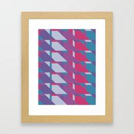 Abstract Drama #society6 #violet #pattern Framed Art Print