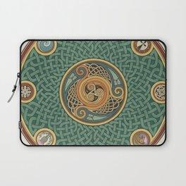 Celtic Knotwork Shield Laptop Sleeve