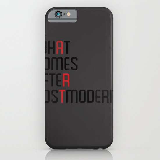 What Comes After Postmodern? iPhone & iPod Case