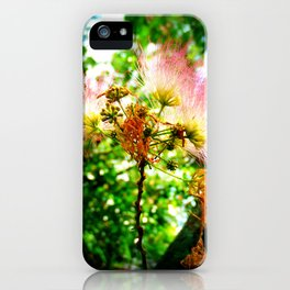 Mimosa Flower iPhone Case
