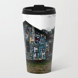 Abandoned house Metal Travel Mug