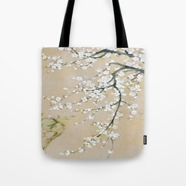 Japanese apricot flower painting,oriental,chinoiserie,korean painting Tote Bag