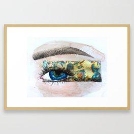Shiny, Messy Framed Art Print