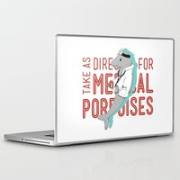 medical Laptop & iPad Skins featuring Medical Porpoises by theartisticfox