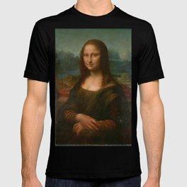 Mona Lisa Classic Leonardo Da Vinci Painting T-shirt