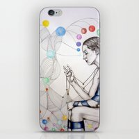 destiny iPhone & iPod Skins featuring Destiny by Heaven7