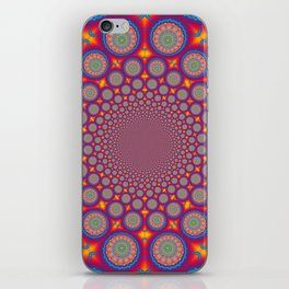 BBQSHOES: Wheels Of Time II Fractal Mandala iPhone Skin
