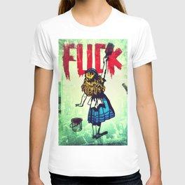Writing Fuck T-shirt