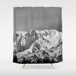 Mountain Glacier Two Shower Curtain