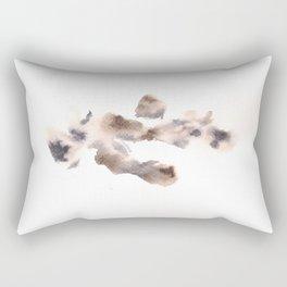 The Empress Mother - 151124  Abstract Watercolour Rectangular Pillow