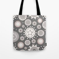 milky way Tote Bags featuring Milky Way by Moon Rabbit Design