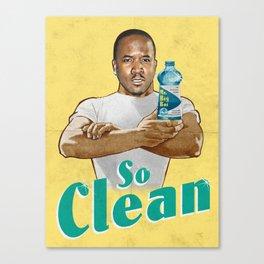 Mr. Clean Canvas Print