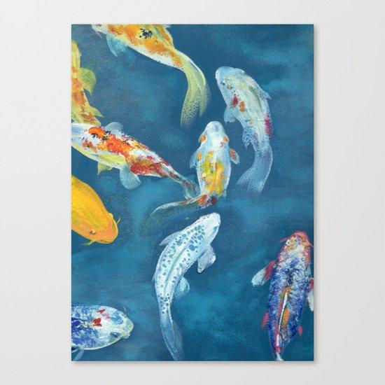 Karpi Koi Canvas Print