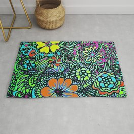 Because Color Brightens the World Rug