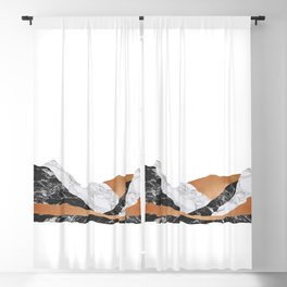 Marble Landscape I, Minimal Art Blackout Curtain